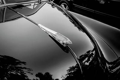 Photograph - 1949 Chevrolet Coupe Deluxe Bw by Rich Franco