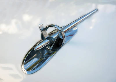 Photograph - 1953 Buick Skylark Hood Ornament by Ginger Wakem