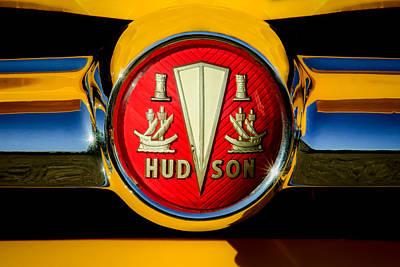 Photograph - 1954 Hudson Grille Emblem by Jill Reger