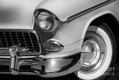 Photograph - 1955 Belair by Dennis Hedberg