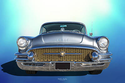 Photograph - 1955 Buick by Keith Hawley