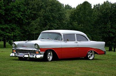 Photograph - 1956 Chevrolet by Tim McCullough