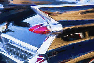 Photograph - 1959 Cadillac Coupe Deville  by Rich Franco