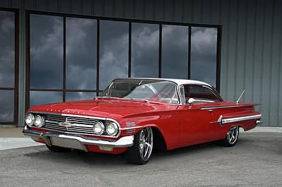 Photograph - 1960 Chevrolet Impala by TeeMack