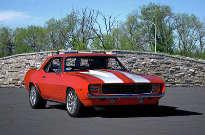 Photograph - 1969 Camaro by Tim McCullough
