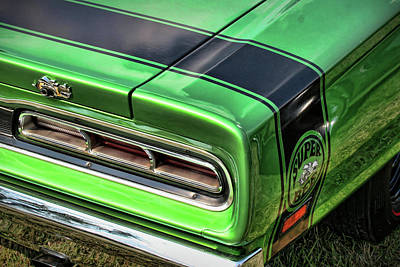 1969 Dodge Coronet Super Bee Art Print by Gordon Dean II