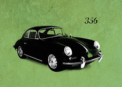 Classic Porsche 356 Photograph - 356 by Mark Rogan
