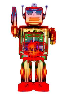 Photograph - 4n0d3 X-ray Robot Art by Roy Livingston