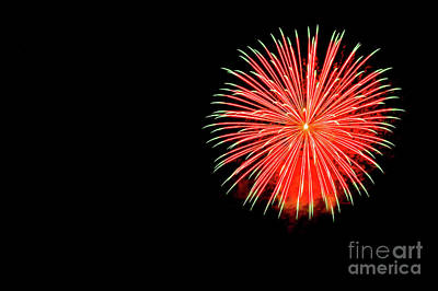 4th Of July Fireworks. Print by Eyal Aharon