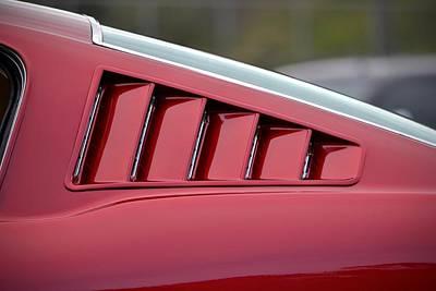 Priska Wettstein Pink Hues - Mustang Fastback by Dean Ferreira