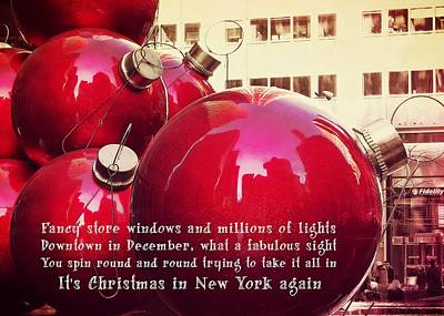 6th Avenue Quote Art Print by JAMART Photography