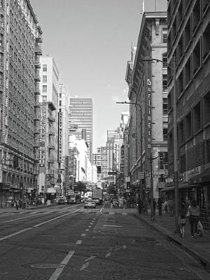 Photograph - 7th Street In Dtla by Hold Still Photography