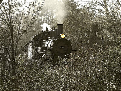 Photograph - 2-8-2 Steam Locomotive by Scott Hovind