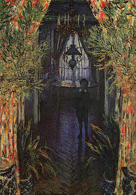 A Corner Of The Apartment Print by Claude Monet