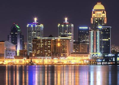 Amy Weiss - A Louisville Night by Frozen in Time Fine Art Photography