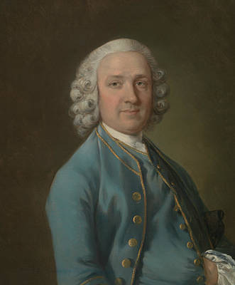 18th Century Painting - A Man Called Mr. Wood The Dancing Master  by Thomas Gainsborough