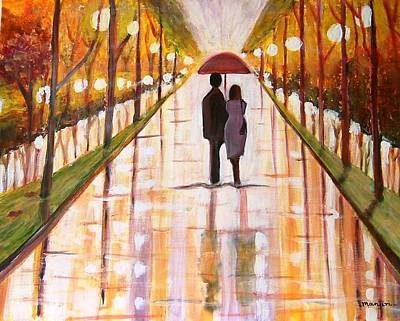 A Rainy Day Original by Manjiri Kanvinde