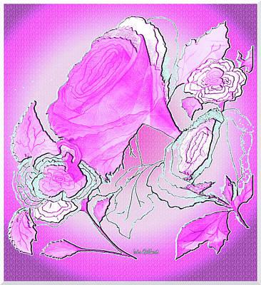 Digital Art - A Rose So Sweet by Iris Gelbart