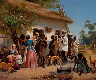 Aborigine Painting - A Scene In South Australia by Mountain Dreams