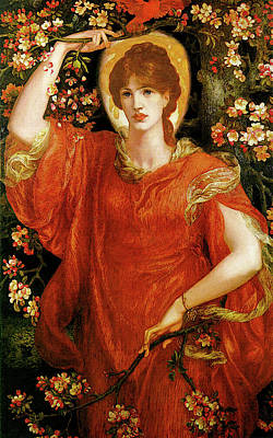 Dante Painting - A Vision Of Fiammetta by Dante Gabriel Rossetti