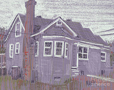 Abandoned House Art Print by Donald Maier