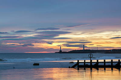 Photograph - Aberdeen Beach At Dawn by Veli Bariskan