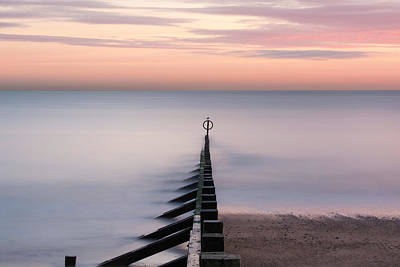 Photograph - Aberdeen Beach At Dusk by Veli Bariskan