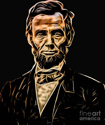 Abe Mixed Media - Abraham Lincoln Collection by Marvin Blaine