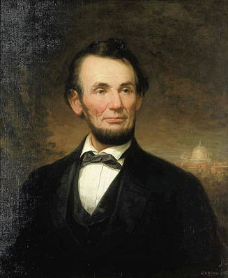 Lincoln Painting - Abraham Lincoln by George Story