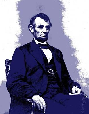 Republicans Mixed Media - Abraham Lincoln  by Otis Porritt
