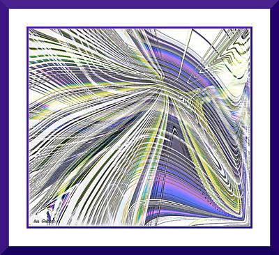 Digital Art - Abstract  37 by Iris Gelbart