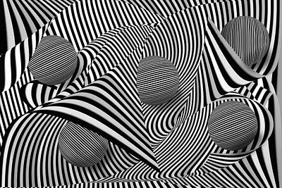 Op Art Photograph - Abstract Art by Eleanor Bortnick