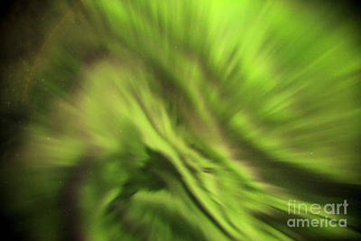 Photograph - Abstract Aurora by Gunnar Orn Arnason