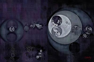 Fanciful Digital Art - Abstract Painting - Regent Grey by Vitaliy Gladkiy