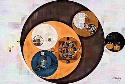 Abstract Painting - Wood Bark Art Print by Vitaliy Gladkiy