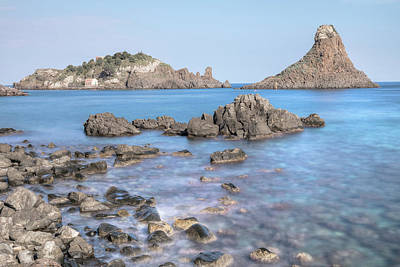Cyclops Photograph - Aci Trezza - Sicily by Joana Kruse