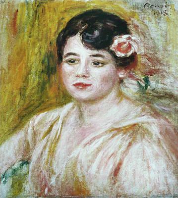 Renoir Painting - Adele Besson by Pierre-Auguste Renoir