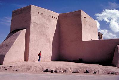 Photograph - Adobe Church In Rancho De Taos by Carl Purcell