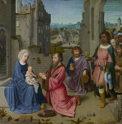 Painting - Adoration Of The Kings by Gerard David