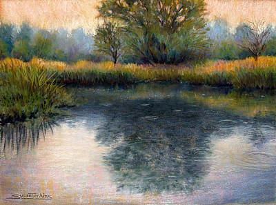 Pastel - After The Rain by Susan Jenkins