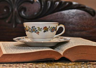 Photograph - Afternoon Teatime by JAMART Photography