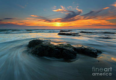Photograph - Against The Tides by Mike Dawson