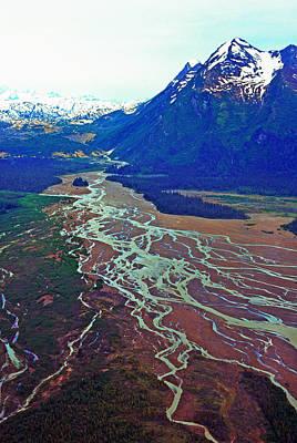 Land Of The Midnight Sun Photograph - Alaska By Air by Thomas R Fletcher