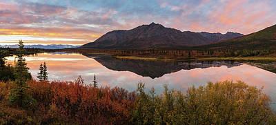 Alaska Photograph - Alaska Fall Colors by Scott Slone