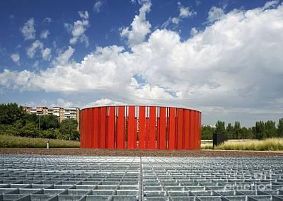 Installation Art Photograph - Alcorcon Arts Creation Center by Carlos Dominguez