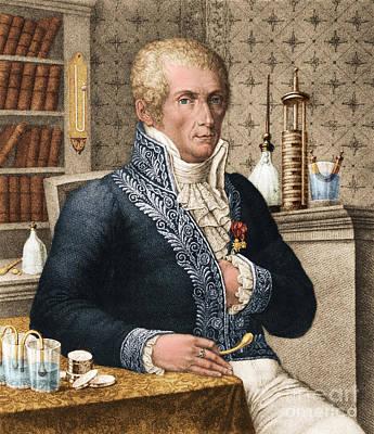 Alessandro Volta, Italian Physicist Art Print