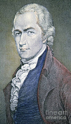 Alexander Hamilton Art Print by American School