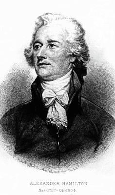 Alexander Hamilton Art Print by John Trumbull