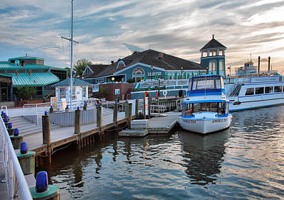 Alexandria Waterfront I Art Print by Steven Ainsworth