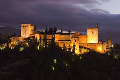 Alhambra Art Print by Andre Goncalves